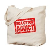 Sea Otter ADDICT Tote Bag