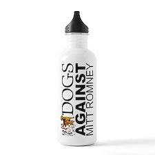 Dogs Against Mitt Romney Sports Water Bottle