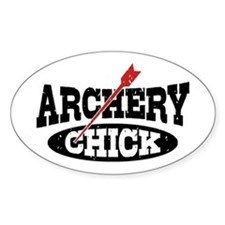 Archery Chick Decal