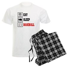 Eat Sleep Baseball Pajamas