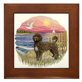 PinkSunset - PWD(brn) Framed Tile