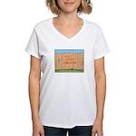 The Fence Women's V-Neck T-Shirt