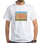 The Fence White T-Shirt