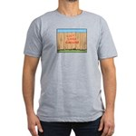 The Fence Men's Fitted T-Shirt (dark)