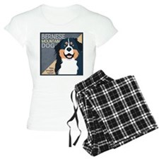 Bernese-Kiss.Snuggle.Repeat. Pajamas