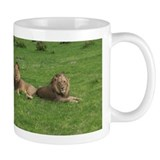 Small Mug with Lions in Botswana