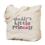 Daddy's Princess Tote Bag