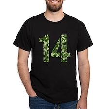 Number 14, Camo T-Shirt