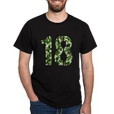 Number 18, Camo T-Shirt