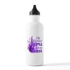 I'm Rockin' Purple for my Nie Water Bottle