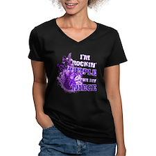 I'm Rockin' Purple for my Nie Shirt
