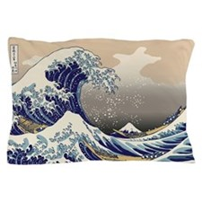 Hokusai The Great Wave Pillow Case