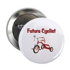 "Future Cyclist Trike 2.25"" Button"