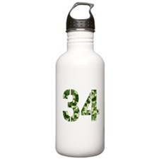Number 34, Camo Water Bottle