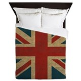 Vintage Union Jack Queen Duvet
