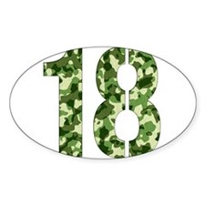 Number 18, Camo Decal