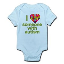 I Love Someone with Autism Infant Bodysuit