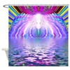 Psychedelic Sunrise Shower Curtain