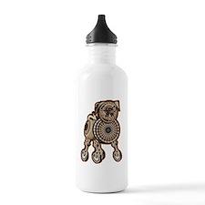 Steampunk Pug Water Bottle