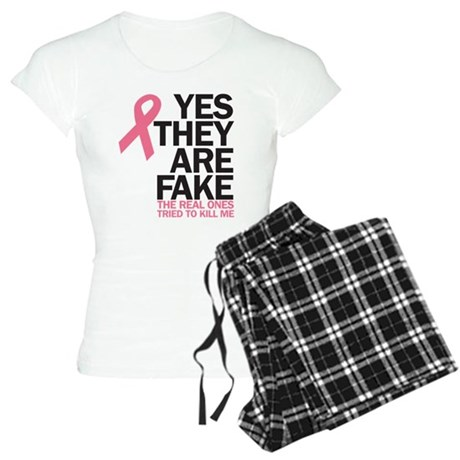 Breast Cancer - tried to kill Women's Light Pajama