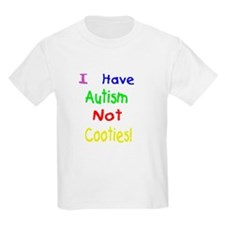 Autism not Cooties Kids T-Shirt