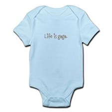 Life is gaga Infant Bodysuit