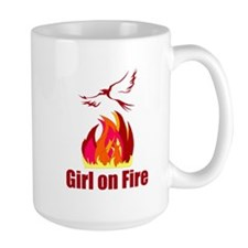 Girl on Fire Mug