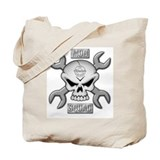 SKULL CHROME MOD SQUAD Tote Bag