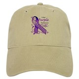 I Wear Purple I Love My Grand Baseball Cap
