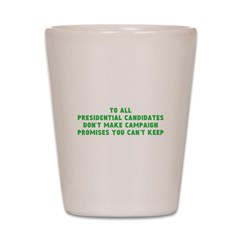 campaign merchandise Shot Glass