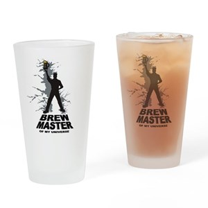 Home Brew Master Drinking Glass
