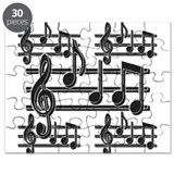 Musical Notes II Puzzle