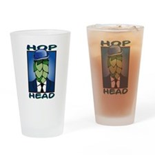 Hop Head Drinking Glass