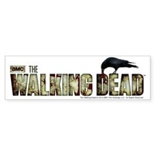 The Walking Dead Flesh Bumper Stickers