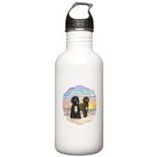 OceanSunrise-2PWD-brn+blk Water Bottle