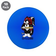 "Hooly 3.5"" Button (10 pack)"