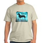 Grunge Doxie Warning Light T-Shirt