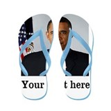 Custom Photo Design Flip Flops
