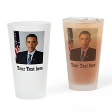 Custom Photo Design Drinking Glass
