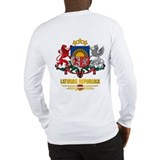 """Latvia COA"" Long Sleeve T-Shirt"