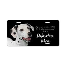 Dalmatian Mom Aluminum License Plate