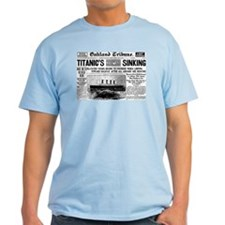 Passengers Saved, Liner Sinking T-Shirt