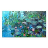 Monet - Water Lilies 1914 v2 Decal