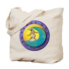 Tidal Dog Tote Bag