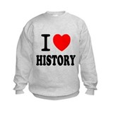 I Love History Sweatshirt
