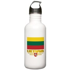 """""""Lithuania Pride"""" Water Bottle"""