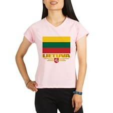 """Lithuania Pride"" Performance Dry T-Shirt"