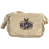 USN Navy Seabees Eagle Bee Messenger Bag