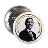 "Obama Commemorative 2.25"" Button"