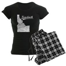 Kendrick, Idaho. Vintage Pajamas
